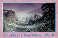 "Postcard: ""Tunnel View-WINTER"" Yosemite National Park, California. Fast Shipping"