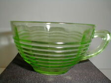 Anchor Hocking Green Depression Glass CIRCLE Cup/s