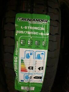 1 x Greenlander L-Strong36 205/75R16C 110/108R Tyre, Brand New.