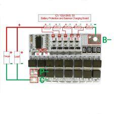 21V 100A 5S BMS Li-ion Li-POLYMER Lithium POLYMER LiMnO Balance Charging Board
