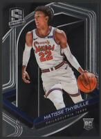 2019-20 Panini Spectra BASE #145 Matisse Thybulle RC Rookie Philadelphia 76ers