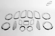 For Kia Carens 2006 - 2012 Chrome Interior Styling Trim Set