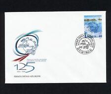 (SBAZ 159) Latvia 1999 FDC UPU 125th Anniversary