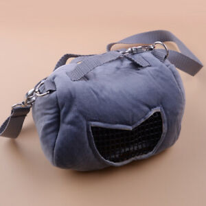 Portable Small Animal Carrier Warm Bag Pet Hamster Guinea Pig Pouch Bed Com