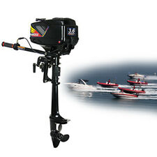 2 Stroke Outboard Motor 3.6HP Short Shaft 40 cm Boat Motor Water Cooling System