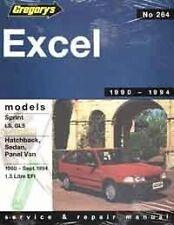 Gregory's Service Repair Manual Hyundai Excel Sprint LS GLS 1990-1994 WORKSHOP
