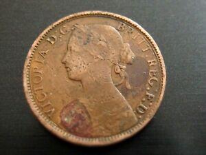 Queen Victoria Farthing 1860