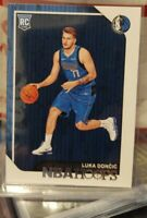 Luka Doncic 2018-19 Panini Hoops ROOKIE Card Basketball RC 268 Dallas Mavericks