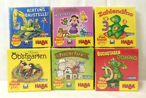 HABA Maxi-Pixi Spiele Verschiedene Spiele zur Auswahl