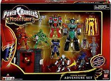 """Power Rangers Mystic Force Mini 7"""" Titan Megazord New Red & Green 2 EVIL Aliens"""