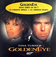 Tina Turner ‎CD Single GoldenEye - France (G/VG+)