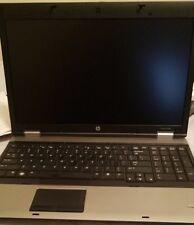"""HP Probook 6550b Laptop Core i5 M450 CPU 2.40GHz 4GB RAM 160GB HDD COA 15.6"""" Scr"""