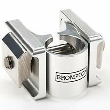 Brompton Saddle Pentaclip - silver