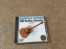NASHVILLE GUITARS 30 GUITAR CLASSICS UNPLUGGED CD