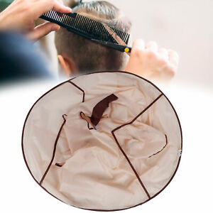 Hair Cutting Cloak Umbrella Hairdressing Cape Catcher Cover Salon Barber Family