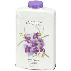 Yardley London April Violets Perfumed Talc 200g