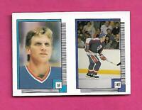 1988-89 OPC # 16 BLUES BRETT HULL ROOKIE  STICKER CARD (INV# D0381)