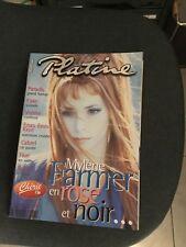 mylene farmer magazine platine mai 1999