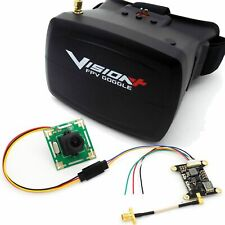 Racing Drone FPV Kit with Vision+ 5.8G Goggles 600mW Transmitter 700TVL Camera