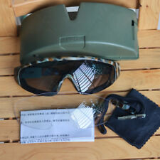 China Military Issue Tactical Goggles, w Clear & Dark Lens, PLA type 03 Eyewear