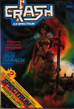 Crash Sinclair ZX Spectrum revista Set Completo De 98 Temas En Dvd Juegos Vintage