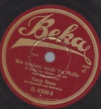 Harry Steier 1929 : Wir trinken noch ne Molle + Wir sehen alles doppelt