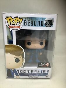 Funko POP! Star Trek CHEKOV (Survival Suit) #355 Vinyl Figure - EXCLUSIVE