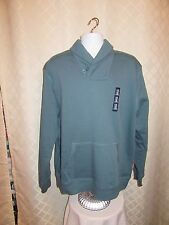 GAP Long Sleeve Men's Sweatshirt 2XL Green gray 77% cotton 23% polyester NWT