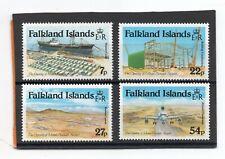 Falklands Islands QE2 1985 Mount Pleasant Airport set sg 501-504 NHM