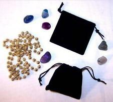12 Small Black Velvet Drawstring Storage Jewelry Bags Soft Bag Coins Rocks New