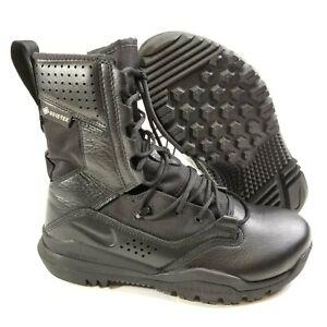 "New Mens Size 7 Nike SFB Field 2 8"" Black Military Combat Tactical Boots Gortex"