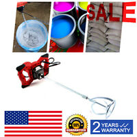 1500w handheld electric cement mixer for mortars concrete grouts adjustable