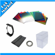 62mm ring Adapter + 10pcs square color filter + Filter box for Cokin P series