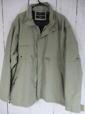 Men's Field And Stream Jeep Parka Jacket Color Tan Size 2XL Many Pockets