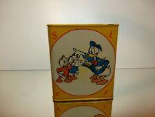 WALT DISNEY VINTAGE UNCLE SCROOGE & DONALD DUCK - MONEY BOX  - H12.5cm - GOOD