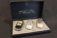 Norev Mercedes-Benz SL: Modellauto Set (3  1:43 Black / Silver / Silver (JS)