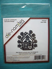 Die-namites - House Die - Compatible with Cuttlebug & Sizzix