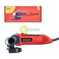 "710W 4.5"" 115mm Electric Angle Grinder Polisher Cutting Sanding Disc Amtech"