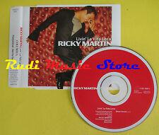 CD Singolo RICKY MARTIN Livin'la vida loca 1999 austria PROMO no lp mc dvd (S13)
