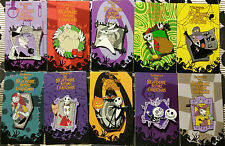 DISNEY TIM BURTON'S NIGHTMARE BEFORE CHRISTMAS 2008 MYSTERY **COMPLETE** PIN SET
