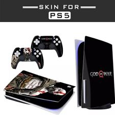 PS5 CONSOLE SYSTEM & CONTROLLER DECAL STICKERS DESIGN VINYL PROTECTION