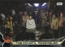 Star Wars Rogue One Series 2 Black Base Card #41 The Council Assembled