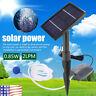 Solar Powered Water Pump Panel Kit Pond Fountain Garden Air Stone Oxygen Aerator