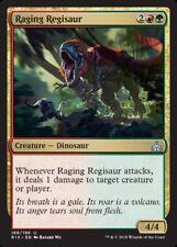 4 x Raging Regisaur * Rivals of Ixalan * MtG * Uncommon * PLAYSET