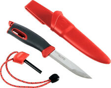 Light My Fire Swedish Fire Knife Camping Fireknife Fire Steel Combo - Red