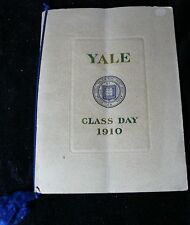 YALE COMMENCEMENT JUNE 10TH, 1910 YEARBOOK