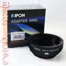 Kipon shift Pentax 645 p645 lentille pour canon eos ef mount adaptateur 5d ii iii 6d 70d