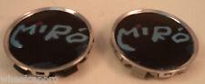 Miro Wheels Black Custom Wheel Center Cap Caps Set 2 (1)