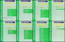 2002 Subaru Forester Repair Shop Service Manual Set of 8 Original OEM Volumes