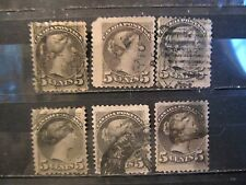 small lot  Canada stamp # 38 used